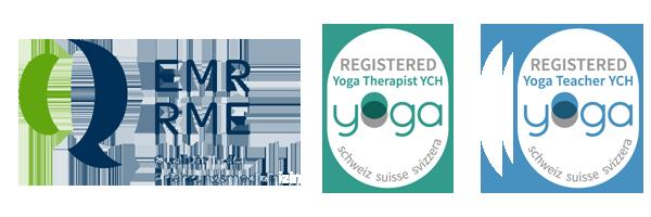 Mitglied bei EMR und YOGA Schweiz